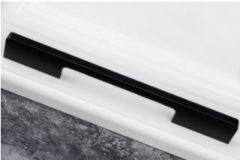 Möbelgriff C2020 schwarz Aluminium LA=160
