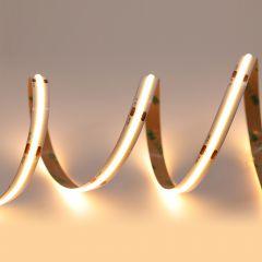 5m LED-Band 15w/m (ohne Punkte) 10mm 24V 2700K